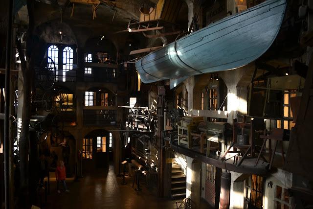 Музей Мерсера - один из самых необычных музеев США (Merser Museum, Doylestown, PA)