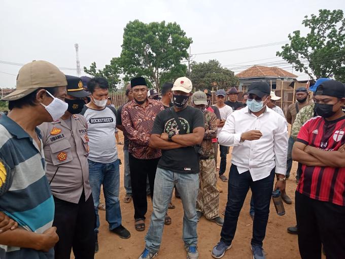 Kecewa Usulan Kerja Sama Belum Disepakati Masyarakat Ligung Lor Geruduk Lokasi Pembangunan Pabrik
