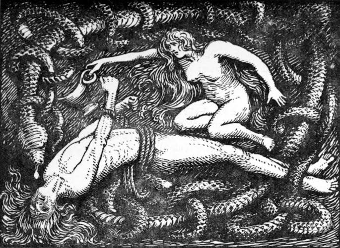 slang van twijfel die de liefde in een wurggreep houdt