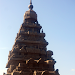 Gopuram of the shore temple