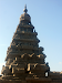 Gopuram of the shore temple
