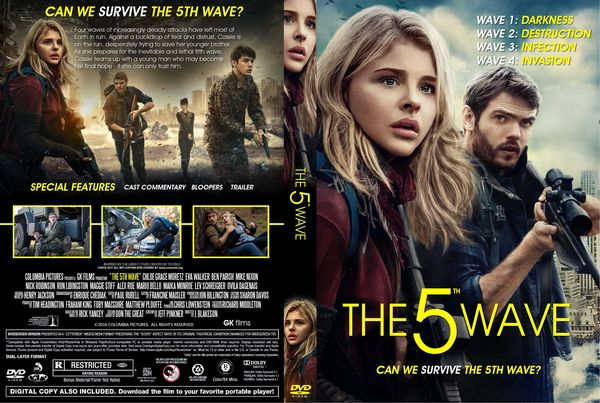 The Fifth Wave – Latino, Inglés – DVD9