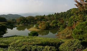 Yokuryu Pond, Shugakuin Imperial Villa (panorama)