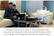 Plt Gubernur Nova Bicarakan Realisasi Komitmen Investasi UEA di Aceh