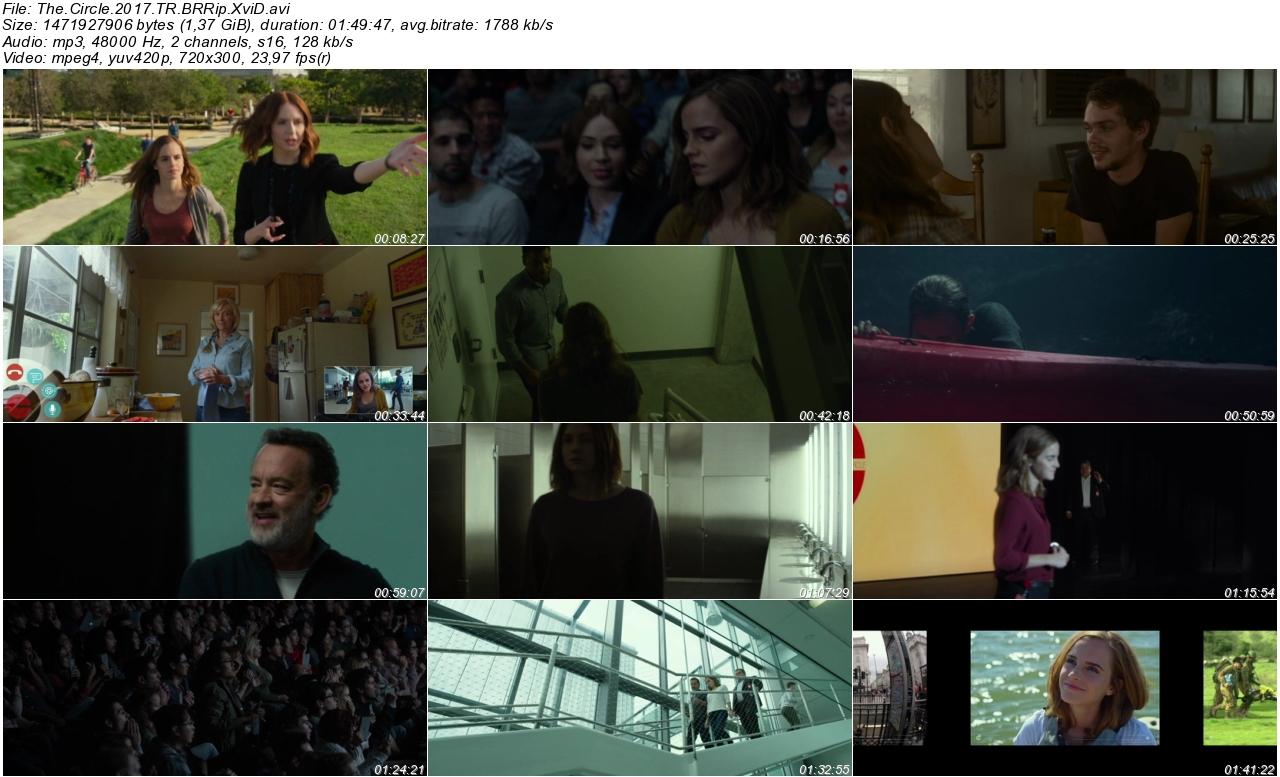 The Circle 2017 - 1080p 720p 480p - Türkçe Dublaj Tek Link indir