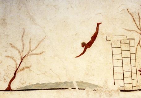 tumba del tuffatore paestum