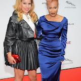 WWW.ENTSIMAGES.COM -     Paloma Faith and Emeli Sande    arriving     at       Jaguar XE - World premiere and  Global launch party at Earls Court Exhibition Centre, London September 8th 2014Jaguar premieres its new Jaguar XE car to press and VIPs                                               Photo Mobis Photos/OIC 0203 174 1069