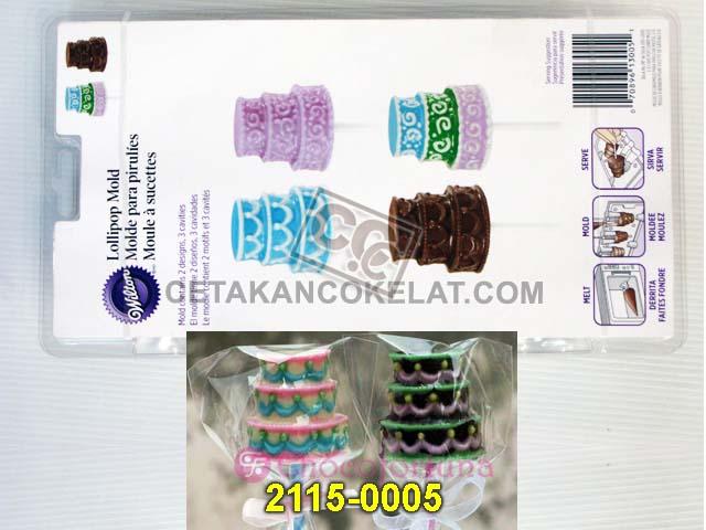Cetakan Coklat Kue Cake wedding lolipop lollipop lolypop cokelat wilton