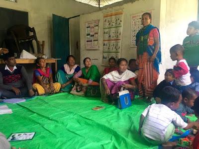 SALT visit to support community action at Kadamguri, Udalguri