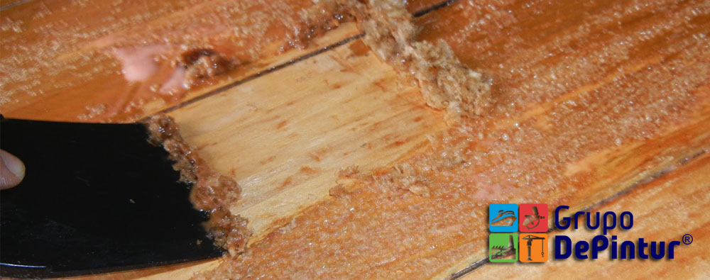 Quitapinturas para madera