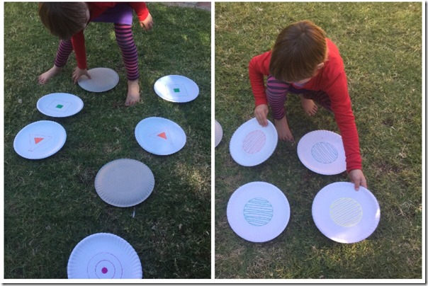 paper plate games for toddler preschool kindergarten