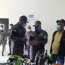 PN y ERD incautan armas de fuego y jucas; cierran bar en Las Marías.