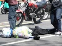 Ini Medan Bung!! Razia Tak Pakek Plang Polisi Di Tabrak Hingga Kritis
