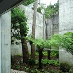 Musée départemental de Préhistoire d'Île-de-France : patio