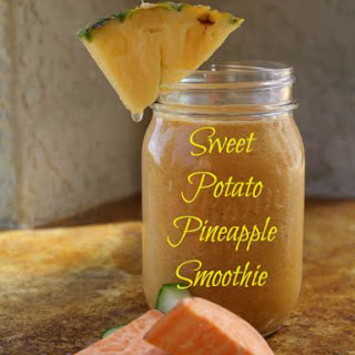 Sweet Potato Pineapple Smoothie - Good For Inflammation