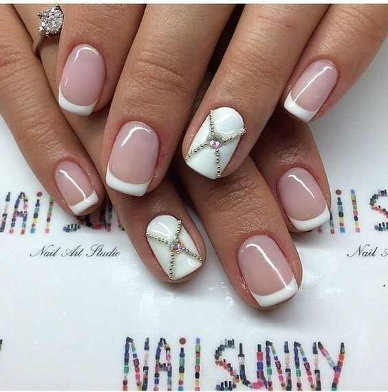 simple elegant nail art designs 2016 2017 - style you 7