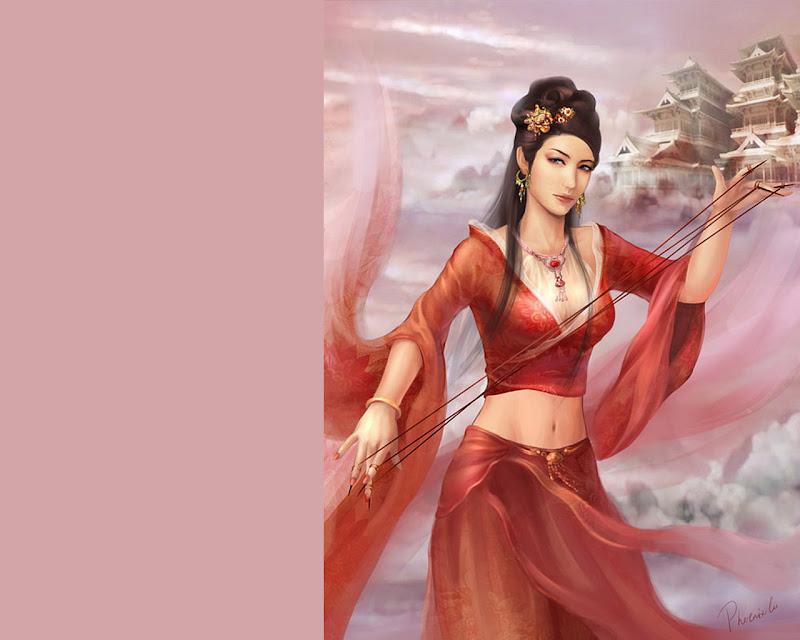 Innocent Angel Lady, Magic Beauties 5