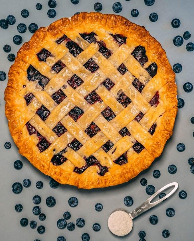 Blueberry Pie Recipe | Breakfast Care