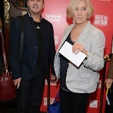WWW.ENTSIMAGES.COM -  Victoria Wood  arriving  at     Great Britain - press night at Theatre Royal Haymarket, London September 26th 2014West End Opening at Theatre Royal Haymarket for Richard Bean's GREAT BRITAIN -  Play about an ambitious tabloid editor in production described as anarchic satire about the press, the police and the political establishment.                                                    Photo Mobis Photos/OIC 0203 174 1069