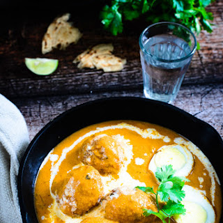 Egg Butter Masala / Eggs in a Rich and Buttery gravy