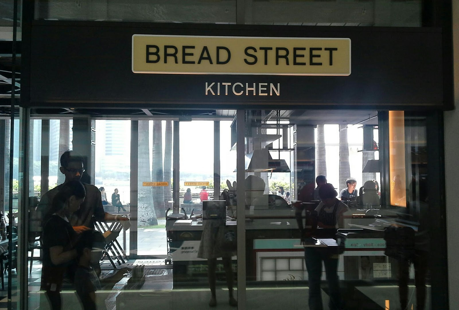 Bread Street Kitchen Menu Sg