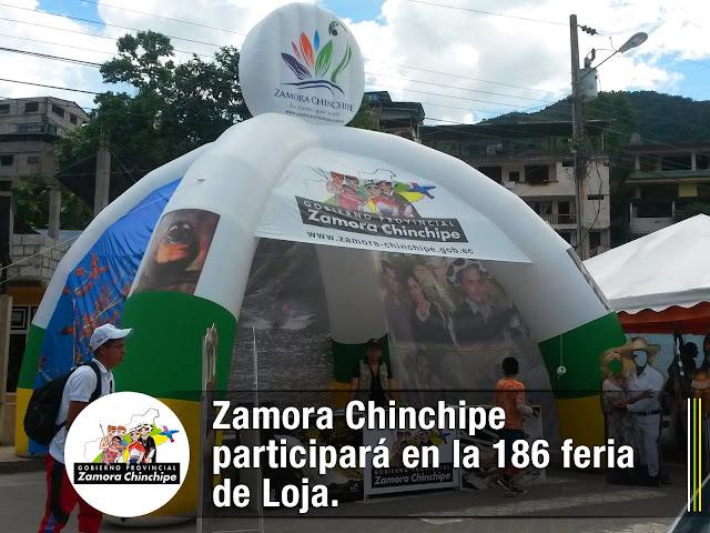 ZAMORA CHINCHIPE PARTICIPARÁ EN LA 186 FERIA DE LOJA.