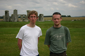 Douglas and Glenn at Stonehenge