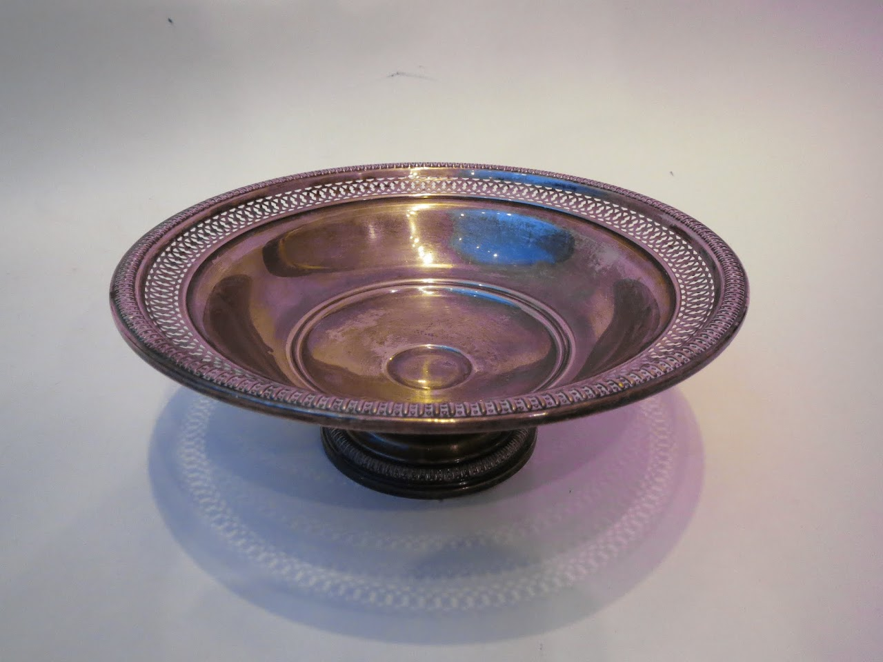 Sterling Silver William Rogers Footed Bowl
