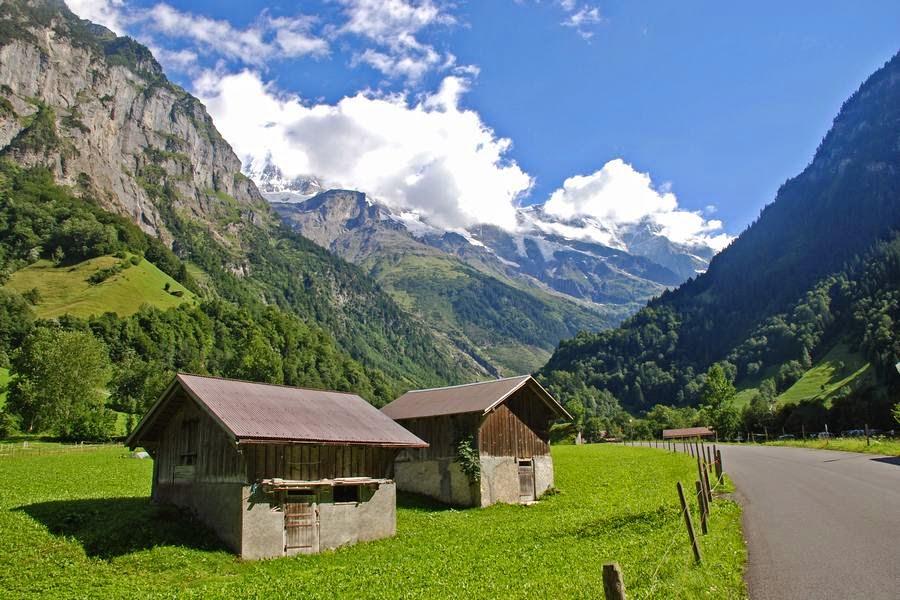 Valle de Lauterbrunnen, Suiza