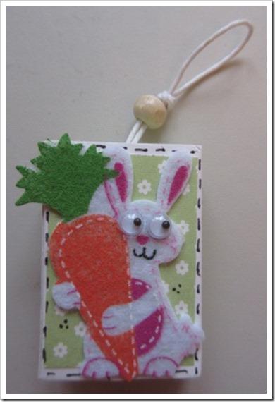 Easter Matchbox Favour The Works Craft Matchbox