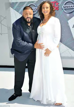 DJ Khaled and his fiancee Nicole Tuck 222