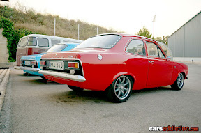Ford Escort Mk1 with blackout panel
