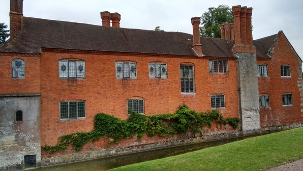 Baddesley Clinton from the rear