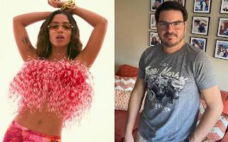 Rodrigo Constantino processa Anitta por críticas da cantora
