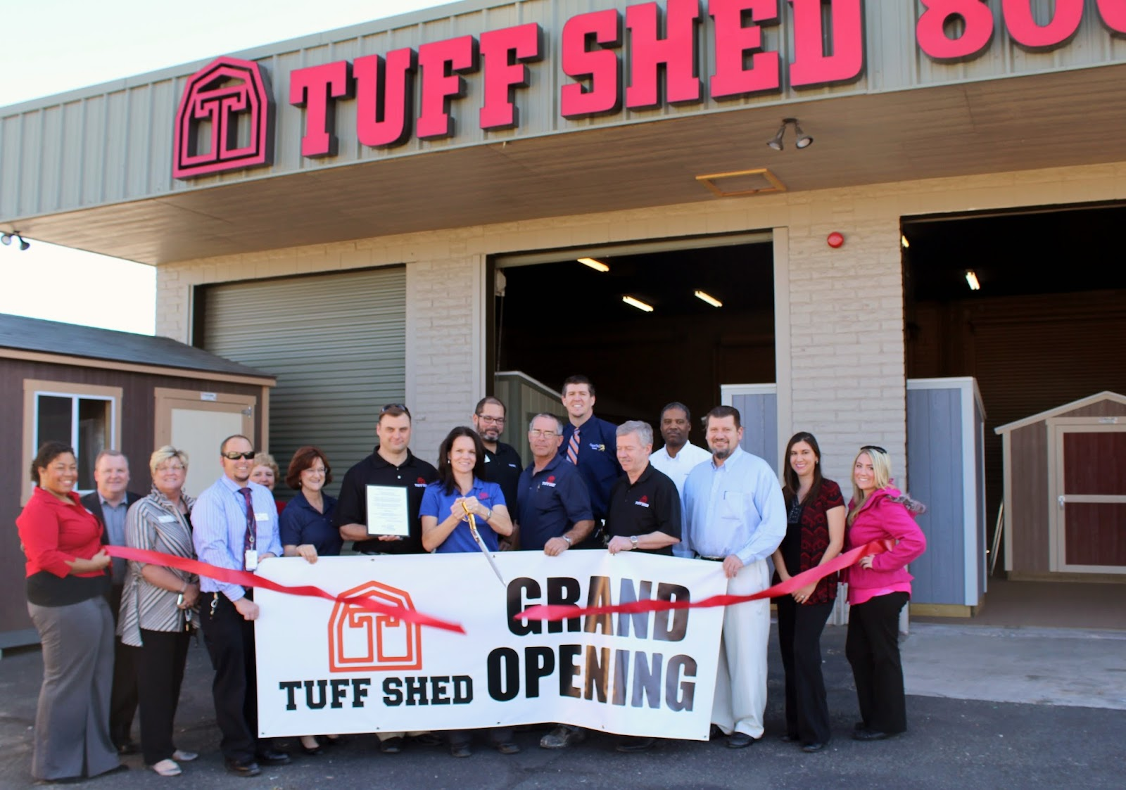 """""""At Tuff Shed, our mission is to be the premier provider of storage buildings and garages, creating products of lasting value for our customers. Come and check out our incredible selection of affordable, high quality sheds, garages and cabins.""""  Tuff Shed 3502 N. Oracle Road Tucson, AZ 85705 (520) 289-3936"""