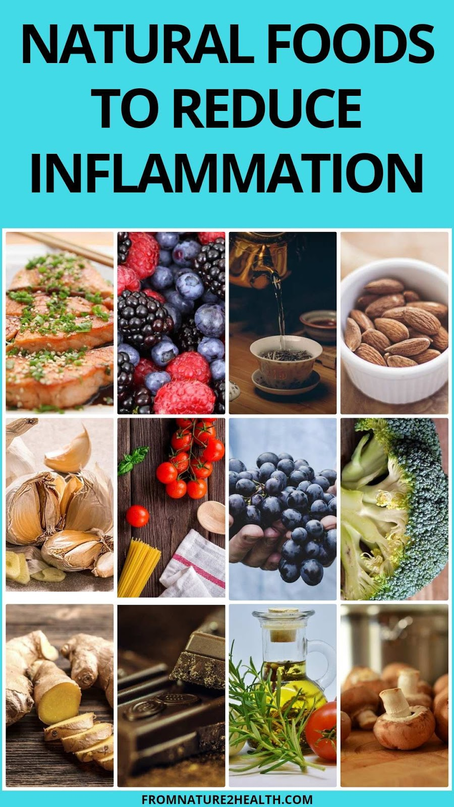 Natural Foods To Reduce Inflammation