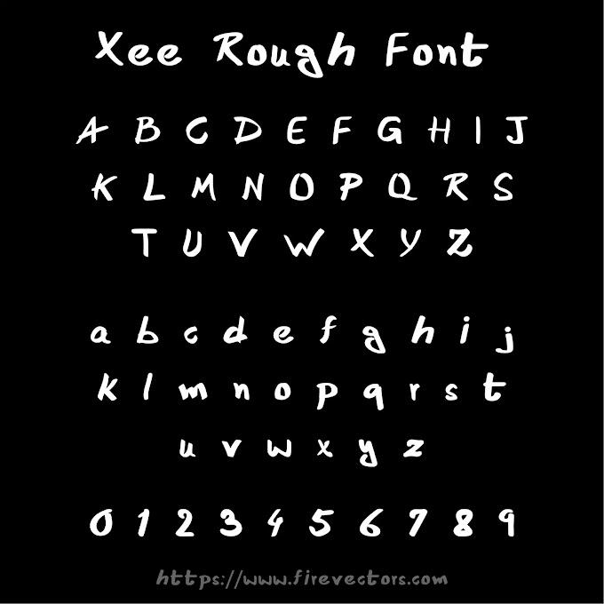 Xee Rough Font