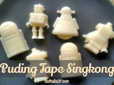 puding tape singkong