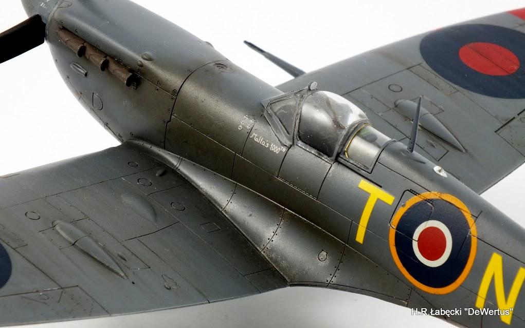 Malta 1940-43, Spitfire Mk.Vb, 249 Sqn RAF, Tamiya 1/48 DSCF4173