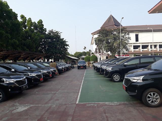 Mulai Hari Rabu,Semua Anggota Dewan Karawang Tidak Lagi Menggunakan Mobil Dinas