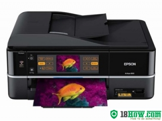 How to reset flashing lights for Epson Artisan 700 printer
