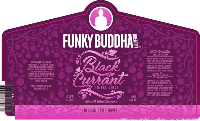Funky Buddha Adding Black Currant Tripel Lindy