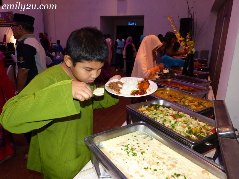 iftar with childrens homes