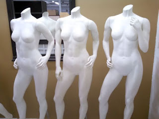 MALE AND FEMALE  MANNEQUINS FULL LENGTH - 6