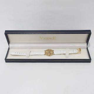 14K Gold Vicence Gold Ladies Watch