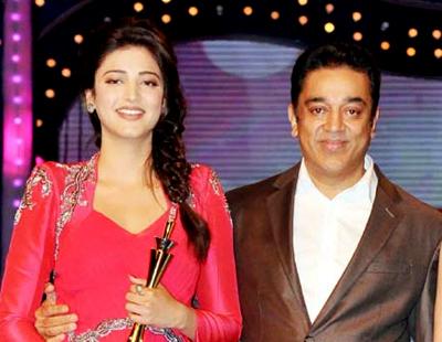 Shruti hassan Photos-Images with her father Kamal hassan