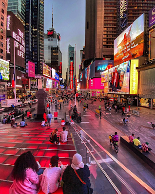 Times Square, October 2020