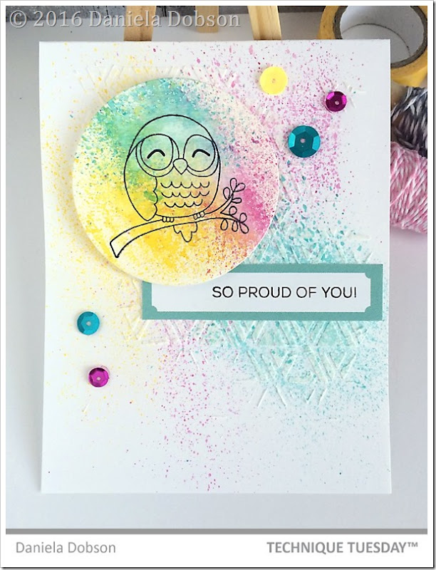 Proud of you by Daniela Dobson