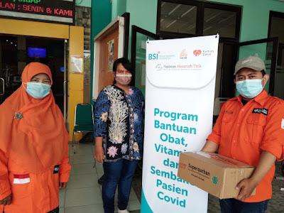 RUMAH ZAKAT DAN BANK SYARIAH INDONESIA (BSI) SALURKAN SEMBAKO UNTUK ISOMAN