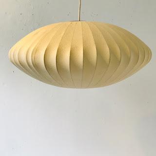 Nelson Style Bubble Saucer Pendant Light